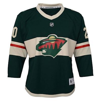 Front (Adidas Minnesota Wild Suter Jersey - Youth)