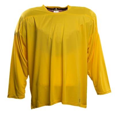 Yellow (Pure Hockey One Tone Practice Jersey - Senior)