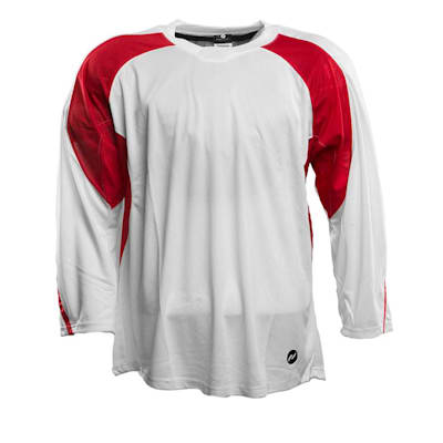 White/Red (Pure™ Hockey Two Tone Practice Jersey - Senior)