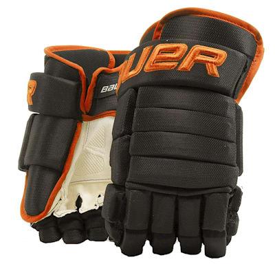 (Bauer 4-Roll Team Pro Hockey Gloves - Senior)