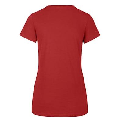 (47 Brand Flip Ultra Rival V-Neck Tee - Detroit Red Wings - Womens)