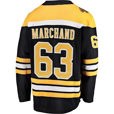 Back (Fanatics Boston Bruins Replica Jersey - Brad Marchand - Adult)
