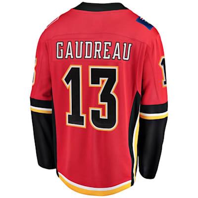 Back (Fanatics Calgary Flames Replica Jersey - Johnny Gaudreau - Adult)
