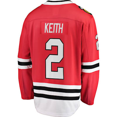 Back (Fanatics Chicago Blackhawks Replica Jersey - Duncan Keith - Adult)