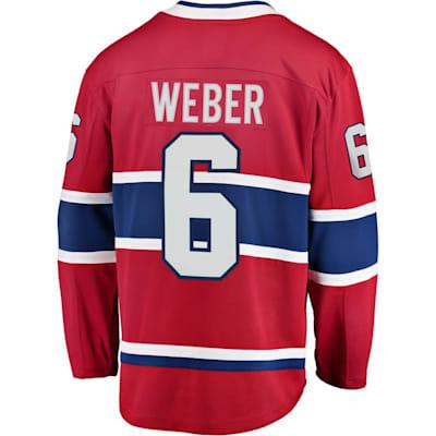 Back (Fanatics Montreal Canadiens Replica Jersey - Shea Weber - Adult)