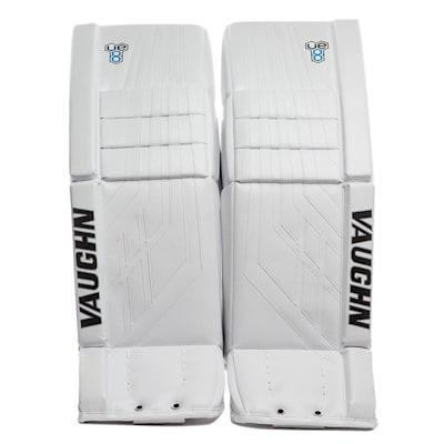 White/White (Vaughn Velocity VE8 Pro Carbon Goalie Leg Pads - Senior)