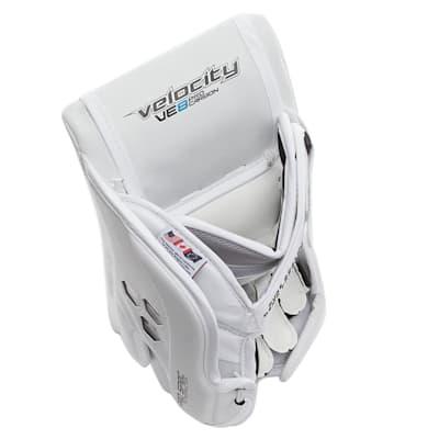 (Vaughn Velocity VE8 Pro Carbon Goalie Blocker - Senior)