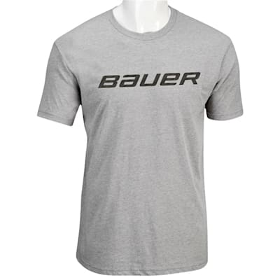Heather Grey (Bauer Core Graphic Short Sleeve Tee - Youth)