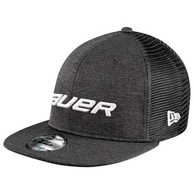 Black (Bauer New Era 950 Snapback Cap - Adult)