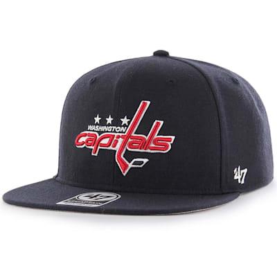 (47 Brand Washington Capitals Sure Shot Captain Snapback Cap)