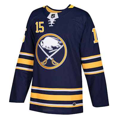 Front (Adidas Buffalo Sabres Jack Eichel Authentic NHL Jersey - Home - Adult)