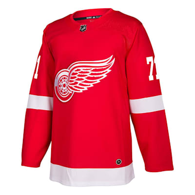 Front (Adidas Detroit Red Wings Dylan Larkin Authentic NHL Jersey - Home - Adult)