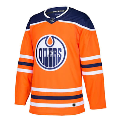 Front (Adidas Edmonton Oilers Authentic NHL Jersey - Home - Adult)