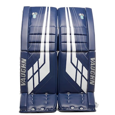 Blue/White (Vaughn Velocity VE8 XFP Goalie Leg Pads - Senior)