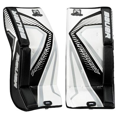 White/Black/Silver (Bauer Prodigy 3.0 Goalie Leg Pads - Youth)