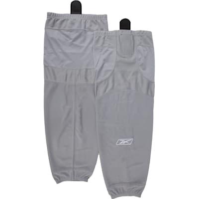 Grey (Reebok SX100 Edge Gamewear Hockey Socks - Intermediate)