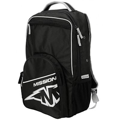 (Bauer Mission Roller Hockey School Backpack)