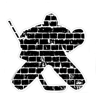 (Painted Pastimes Car Decal- Goalie)