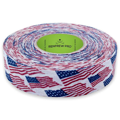 USA (Renfrew Cloth Hockey Tape 1-inch - Patterns)