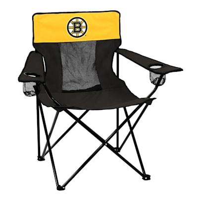 NHL Elite Chair Bruins (Logo Brands Boston Bruins Elite Fold Out Chair)