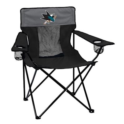 NHL Elite Chair Sharks (Logo Brands San Jose Sharks Elite Fold Out Chair)