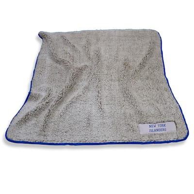 Frosty Blanket Islanders (Logo Brands New York Islanders Frosty Fleece Blanket)