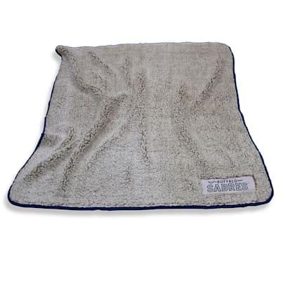 Frosty Blanket Sabres (Logo Brands Buffalo Sabres Frosty Fleece Blanket)