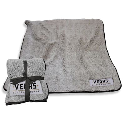 (Logo Brands Las Vegas Golden Knights Frosty Fleece Blanket)