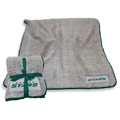 (Logo Brands Dallas Stars Frosty Fleece Blanket)