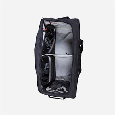 *Inside Shown in Black* (Pacific Rink Player Bag - Red - Senior)