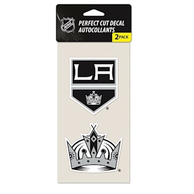 Perfect Cut Decal 2PK Kings (Wincraft Perfect Cut Decal 2PK - Los Angeles Kings)