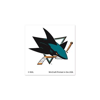 NHL 4PK Tattoo Sharks (Wincraft San Jose Sharks Tattoo - 4 Pack)