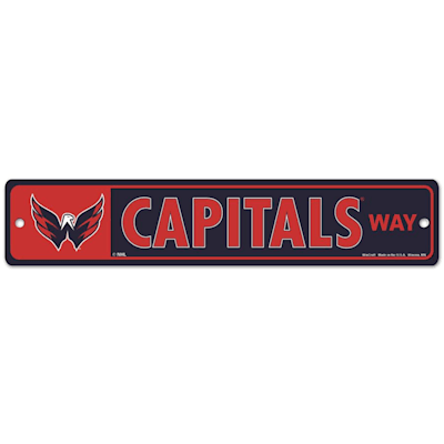 NHL Street Sign Capitals (Wincraft Washington Capitals Street Sign)