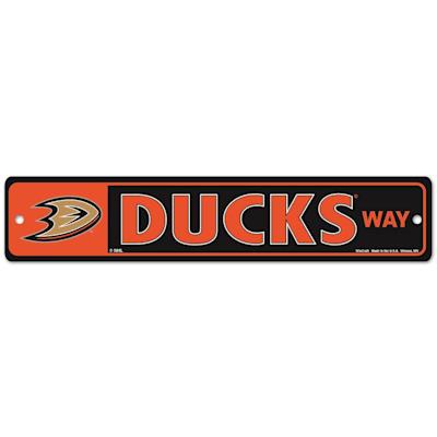 NHL Street Sign Ducks (Wincraft Anaheim Ducks Street Sign)