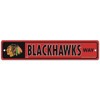 NHL Street Sign Blackhawks (Wincraft Chicago Blackhawks Street Sign)
