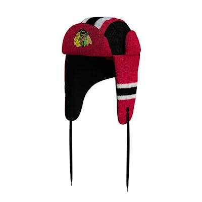 (Hockey Sockey Chicago Blackhawks Reversible Trapper Hat)