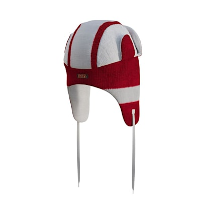 (Hockey Sockey Detroit Red Wings Reversible Trapper Hat - Adult)