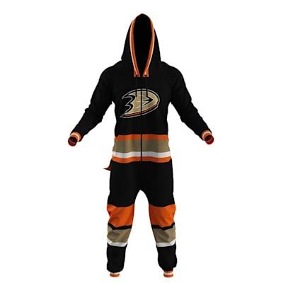 Anaheim Ducks Onesie (Hockey Sockey Anaheim Ducks Onesie - Adult)
