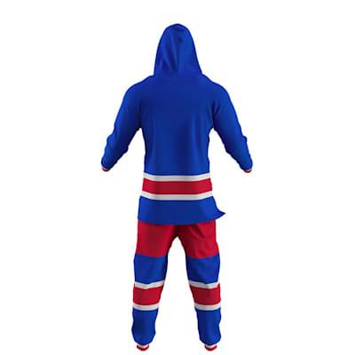 New York Rangers Onesie (Hockey Sockey New York Rangers Onesie - Adult)