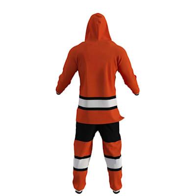 Philadelphia Flyers Onesie (Hockey Sockey Philadelphia Flyers Onesie - Adult)