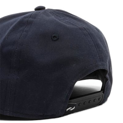 Back (Pure Hockey Navy Flat Brim Snapback Hat - Adult)