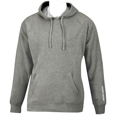 Heather Grey (Bauer Core Fleece Hoody - Youth)