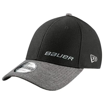 Black (Bauer New Era 9Forty Adjustable Cap - Adult)
