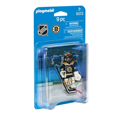Boston Bruins Playmobil Goalie Figure (Playmobil Boston Bruins Goalie Figure)