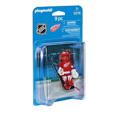 Detroit Red Wings Playmobil Goalie Figure (Playmobil Detroit Red Wings Goalie Figure)