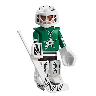 Dallas Stars Playmobil Goalie Figure (Playmobil Dallas Stars Goalie Figure)