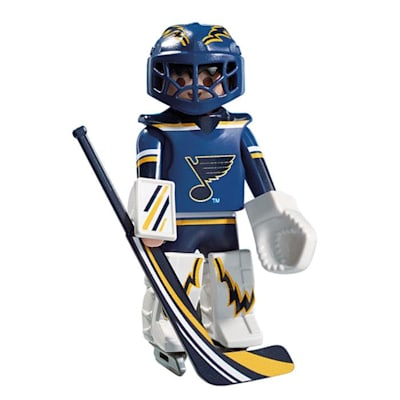 St. Louis Blues Playmobil Goalie Figure (Playmobil St. Louis Blues Goalie Figure)