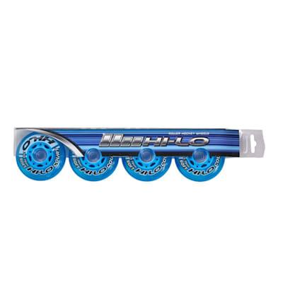 (Bauer S19 Hi-Lo Court Inline Hockey Wheels - 4 Pack)