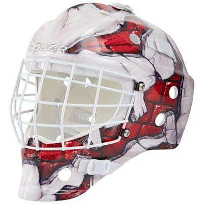 (Bauer NME Street Hockey Goalie Mask - Brick Wall - Youth)