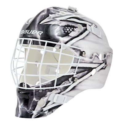(Bauer NME Street Hockey Goalie Mask - King - Youth)